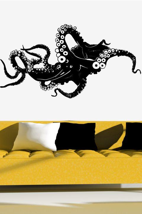 Wall Decals Octopus Walltat Com Art Without Boundaries Wall