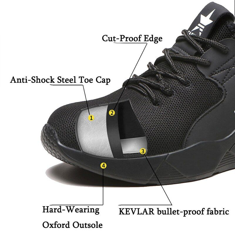 Safety Shoes Boots For Men Steel Toe