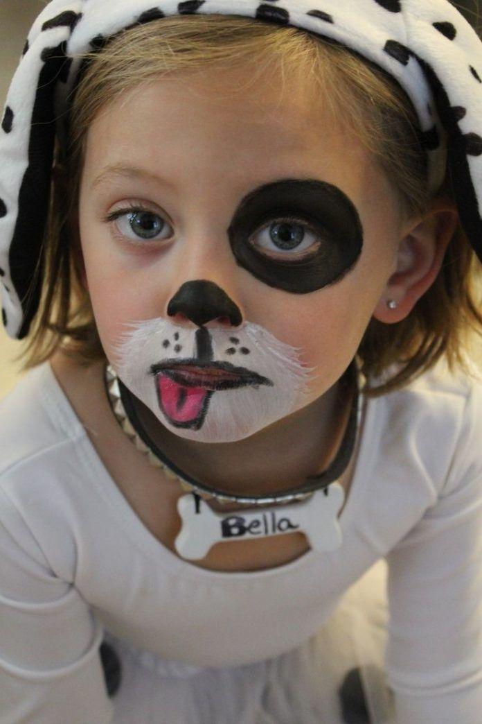 Top Kopek Yuz Boyama Ornekleri Ve Modelleri Boyama Kopek Modelleri Ornekleri Yuz Puppy Face Paint Face Painting Halloween Face Painting Easy