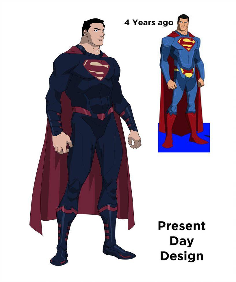 Superman Redesign (80th Anniversary Special) By Jjjjehu
