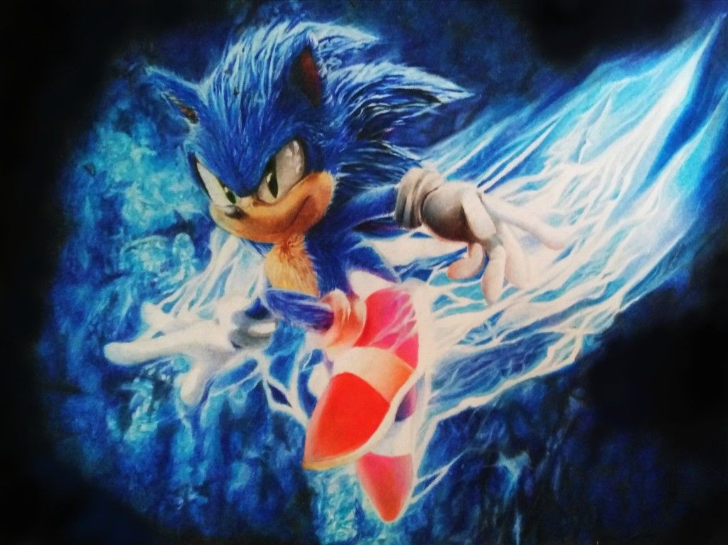concept art sonic the hedgehog movie 2019