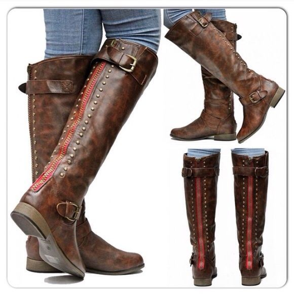11d81bd0f8b Journey Collection Spokane Equestrian Tall Boots 8 BRAND NEW WITH TAGS. No  Trades. Serious Buyers Only. Journee Shoes Heeled Boots