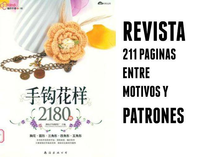 Revista motivos, muestras y patrones | Crochet | Pinterest ...
