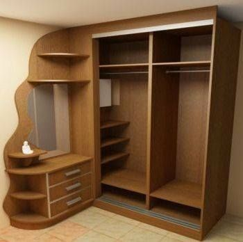 Closets modernos dise os de closets 2018 2019 for Modelos de closets para dormitorios