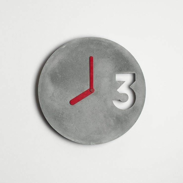 Concrete Wall Clock Etsy You Searched For Concrete Wall Clock Etsy Is The Home To Thousands Of Handmad Handmade Home Decor Handmade Wall Clocks Handmade Home