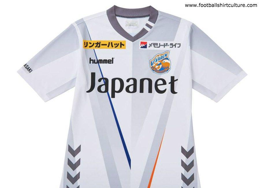 a931e5f14d1 VVaren  jleague V-Varen Nagasaki 2019 Hummel Away Kit ...