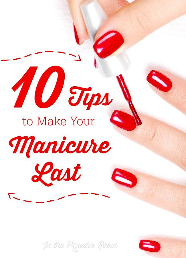 In the Powder Room | Pinterest | Diy manicure, Manicure and Nail hacks