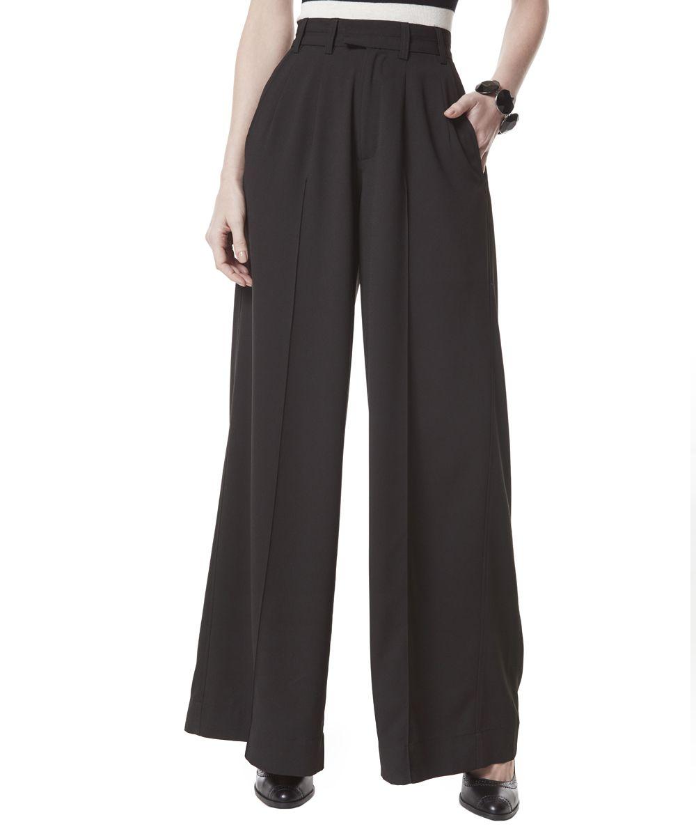 9a590885e Calça Pantalona Herchcovitch em Crepe Preta - cea R  169