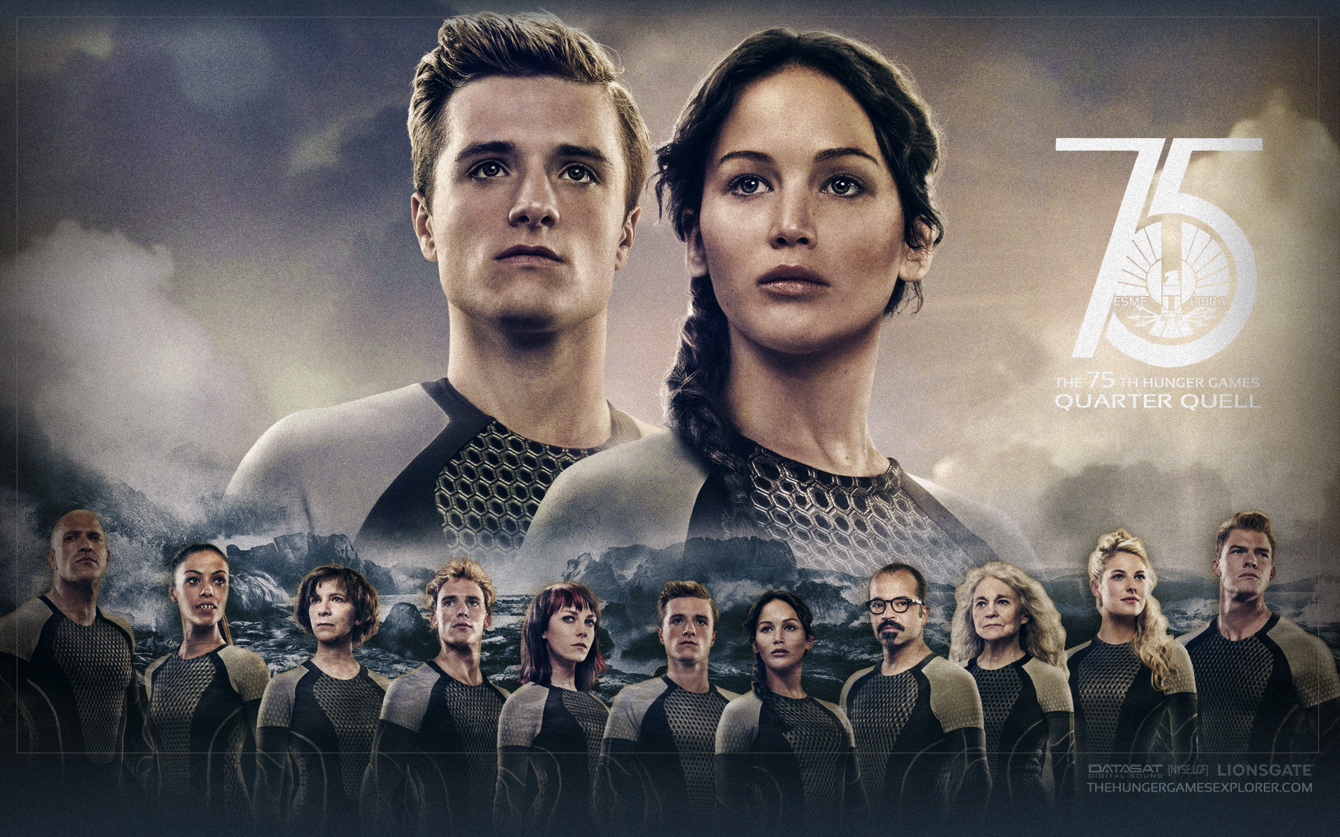 The Hunger Games Catching Fire Wallpaper By Esme Libra D71l2lp Png 1920 1200 Hunger Games Wallpaper Hunger Games Hunger Games Catching Fire