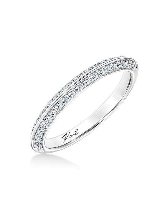 Karl Lagerfeld 31 Ka123 L Platinum Wedding Ring Platinum Diamond Wedding Band Wedding Rings For Women Platinum Wedding Rings