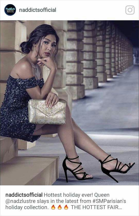 Nadine Lustre for Parisian Shoes and