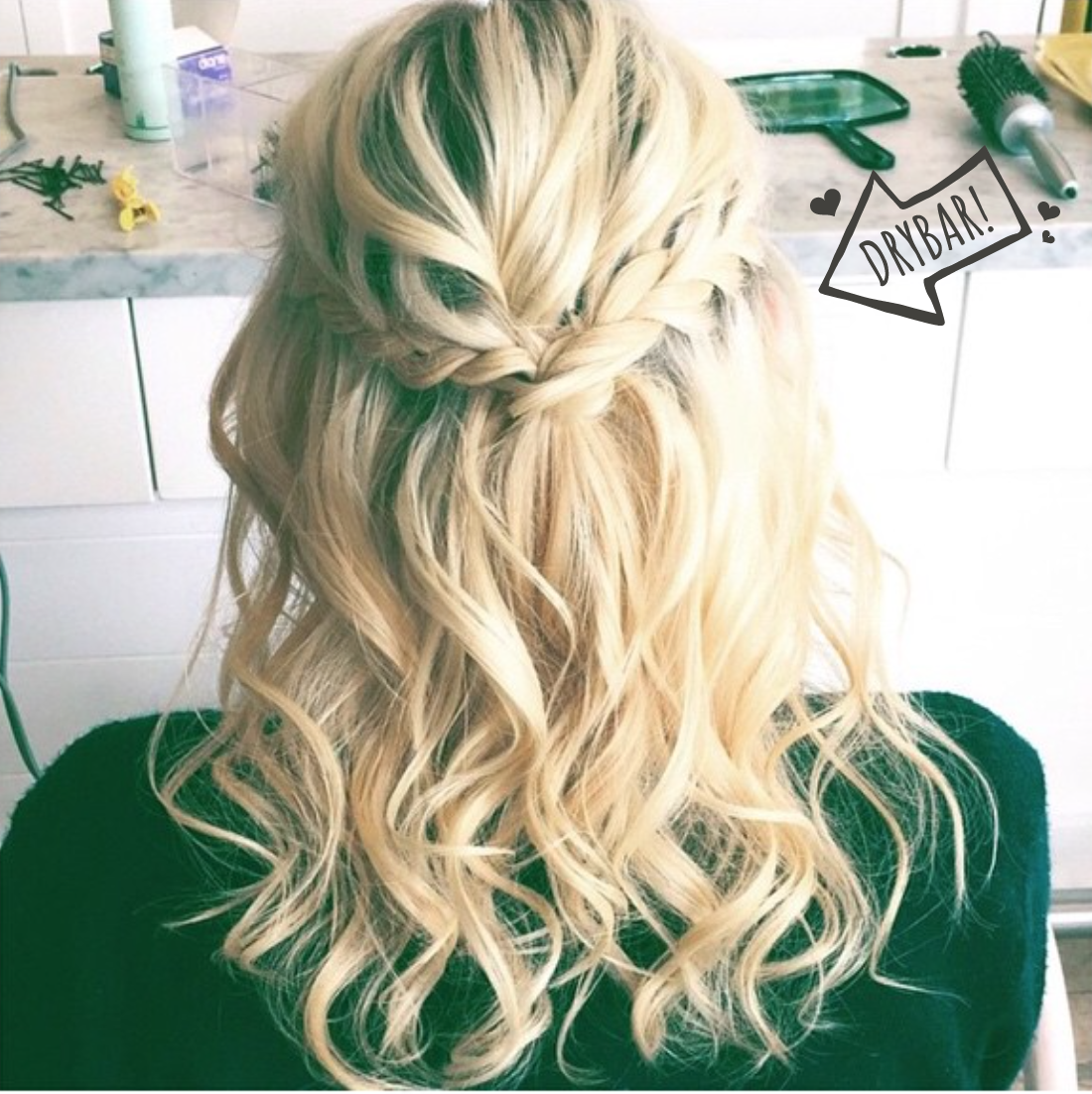 This #MaiTai with a braid is PERFECT!