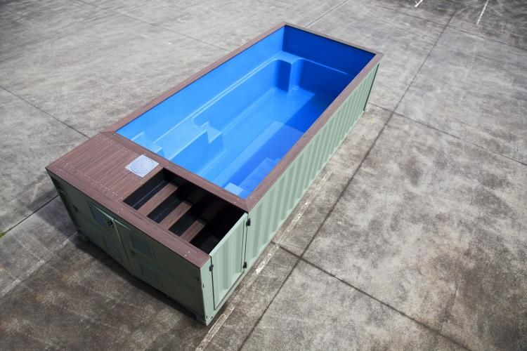 This Company Makes Pools Out Of Shipping Containers And They