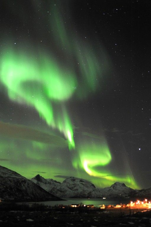 The Northern Lights in 2012, in Anchorage, Alaska...  ~Gorgeous~