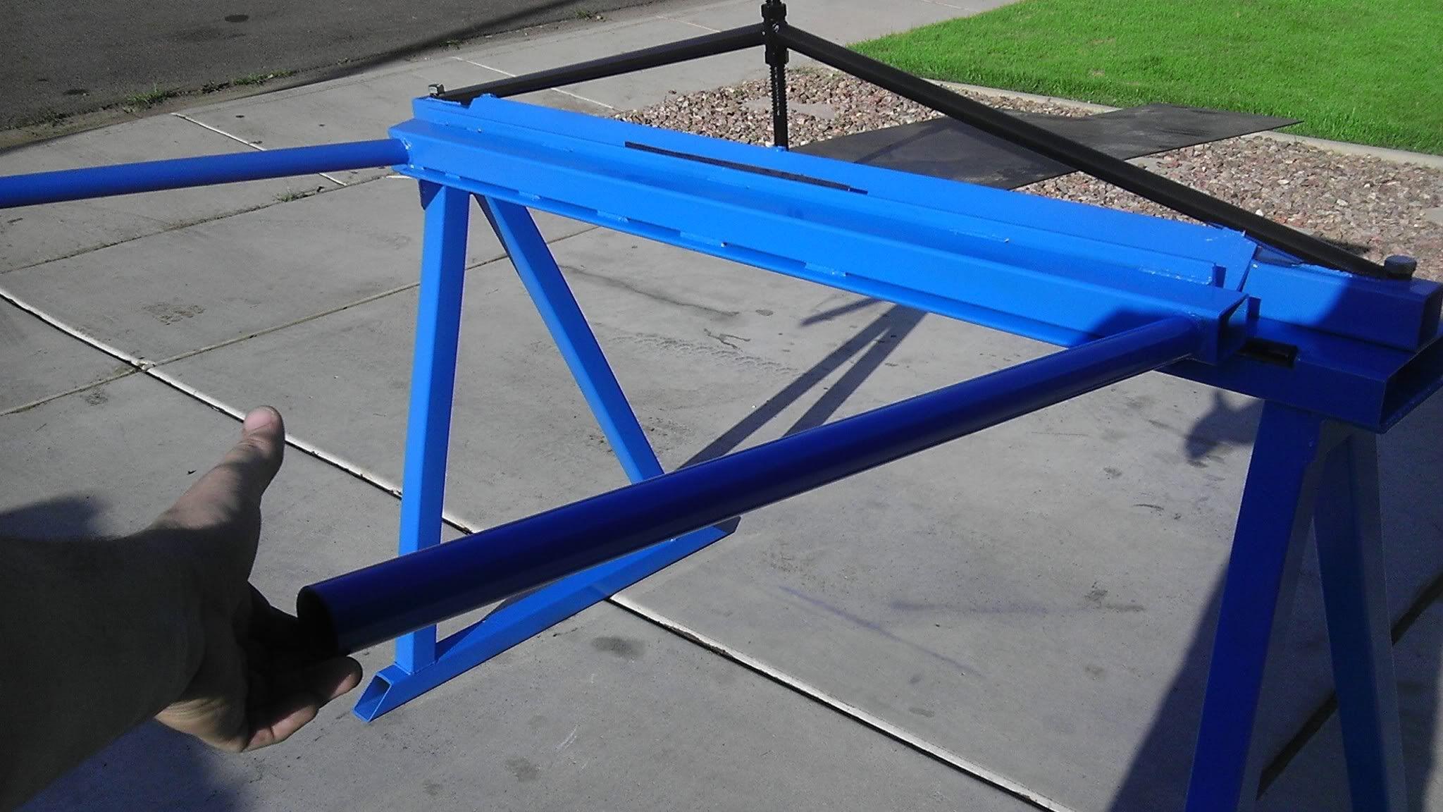 Manual Sheet Metal Brake Jeepforum Com Sheet Metal Brake Sheet Metal Sheet Metal Bender