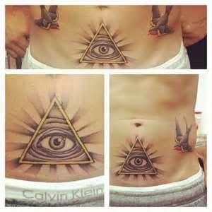 Matt Roe Tattoo Illuminati Mattroetattoo Allseeingeye