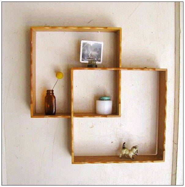 Simple Cool Looking Shelves With