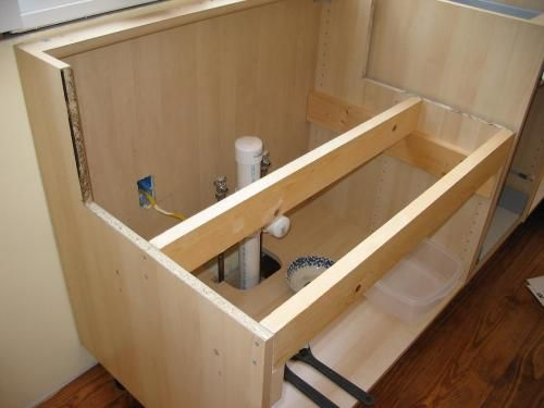 making an ikea cabinet work with a nonikea farmhouse sink