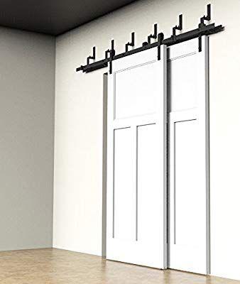 diyhd 6 m/2 ByPass Kit porte coulissante en bois intérieur Grange de