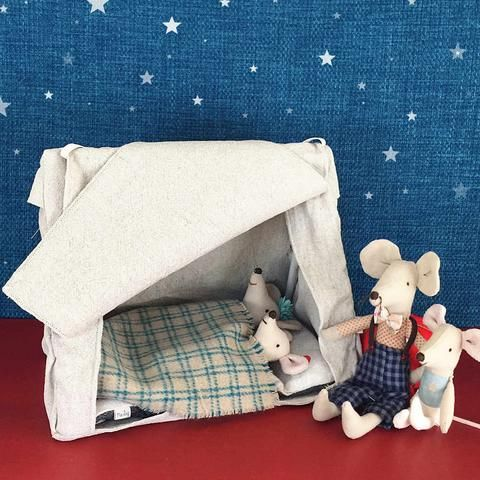 Maileg Mouse Camping Tent Maileg Mouse Tent Camping Family