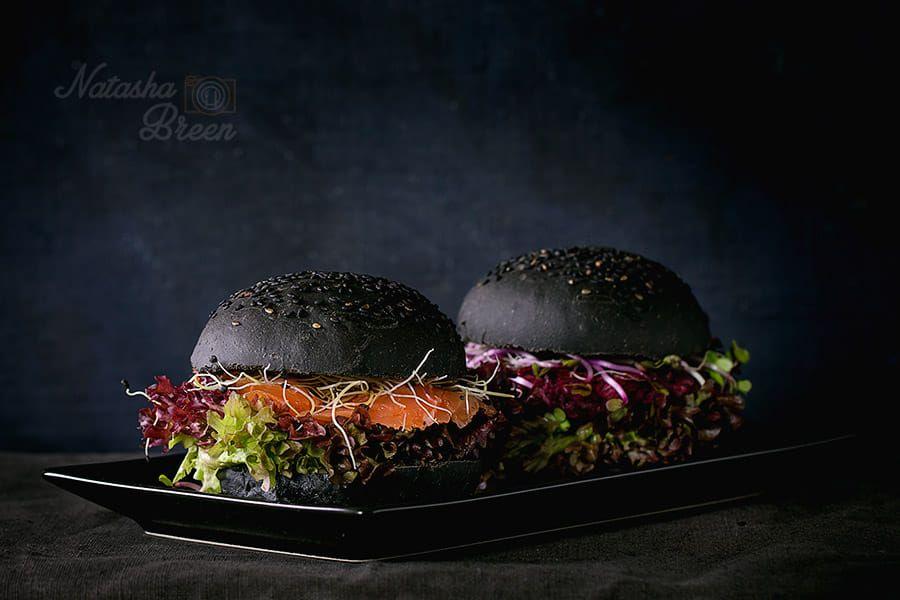Black burgers 500px in 2020 black burger homemade