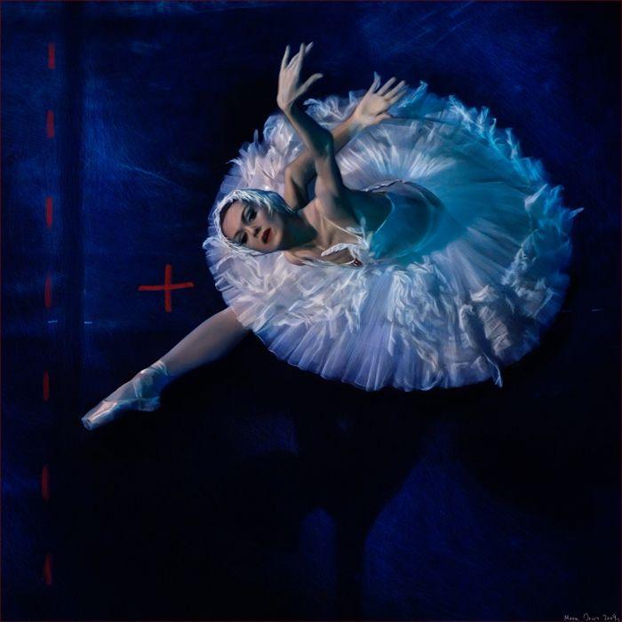 Ulyana Lopatkina by photographer Mark Olich - Ballet, балет, Ballerina, Балерина, Dancer, Danse, Танцуйте, Dancing, Russian Ballet