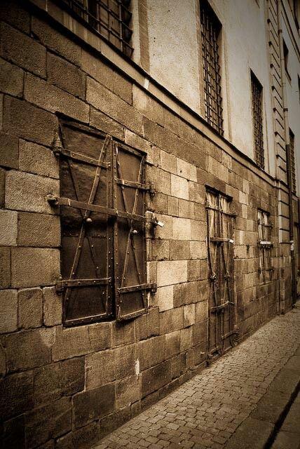 Stockholm Royal Castle side gate