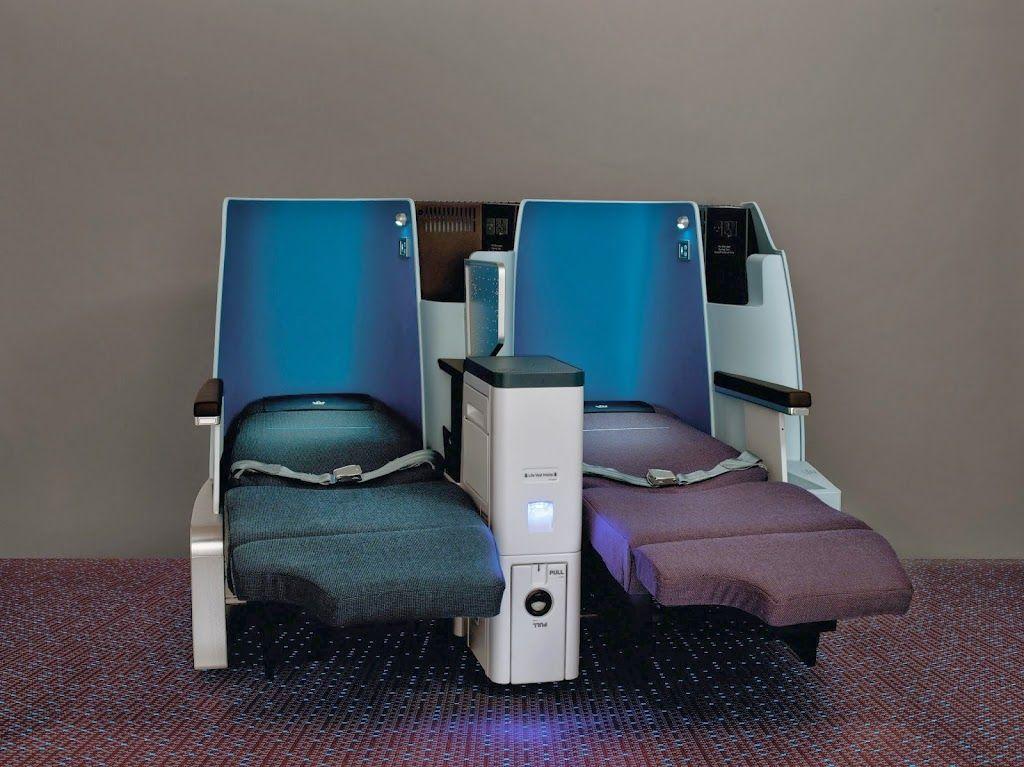 Alle Boeing fly hos KLM har fullflat business class sæder
