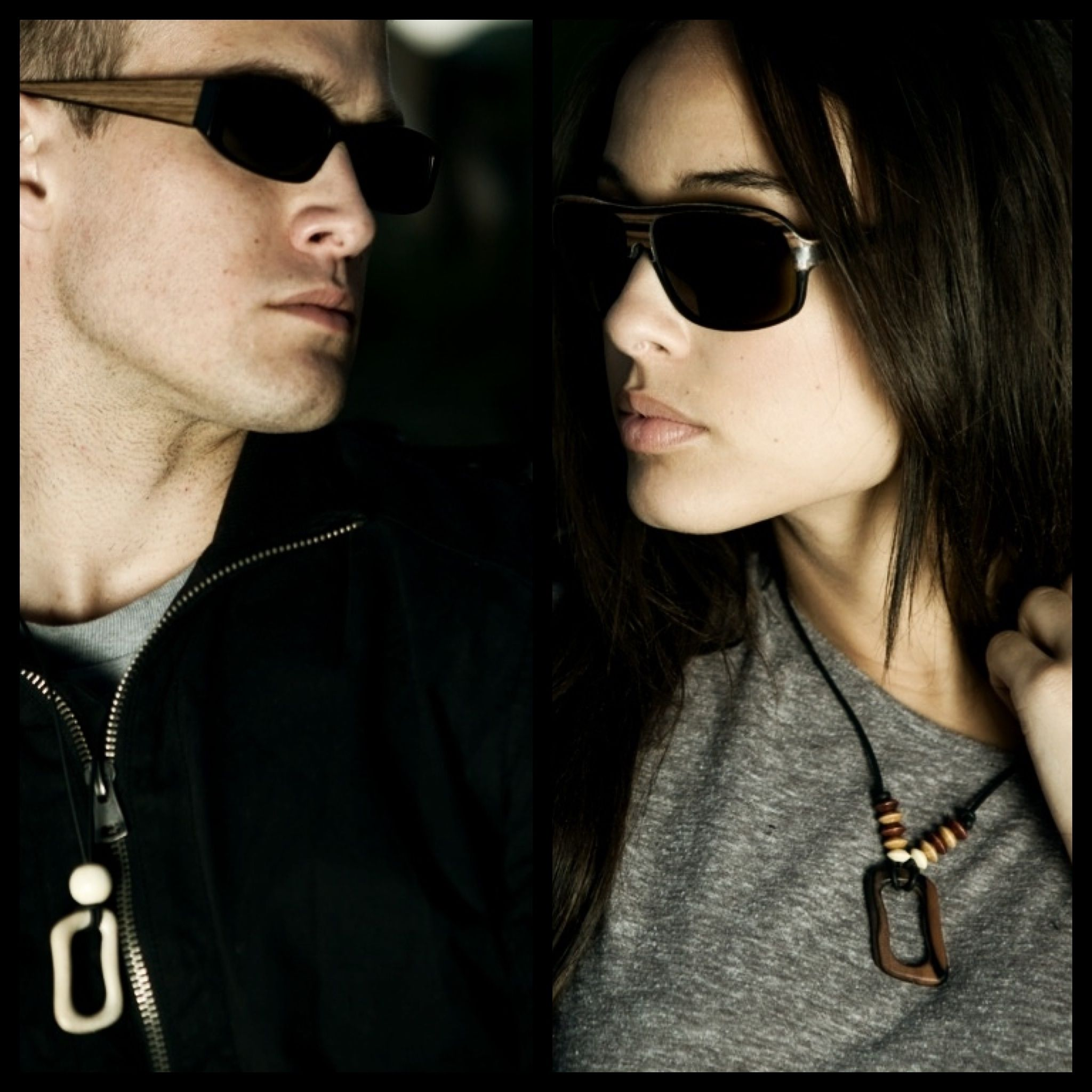 todd julian and chelsea gilligan wearing Sire's Crown wood ...Todd Julian