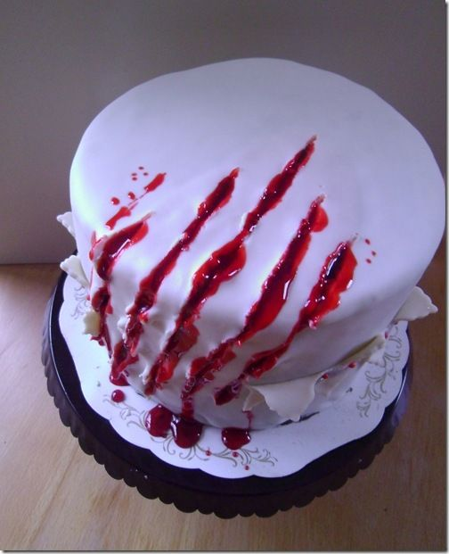 How to Dylans slasher birthday party Pinterest Cake
