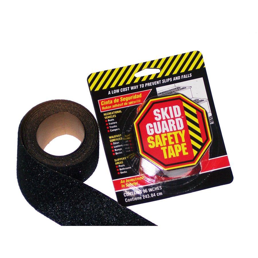 SKID GUARD Black Mineral Abrasive AntiSlip Tape Tape