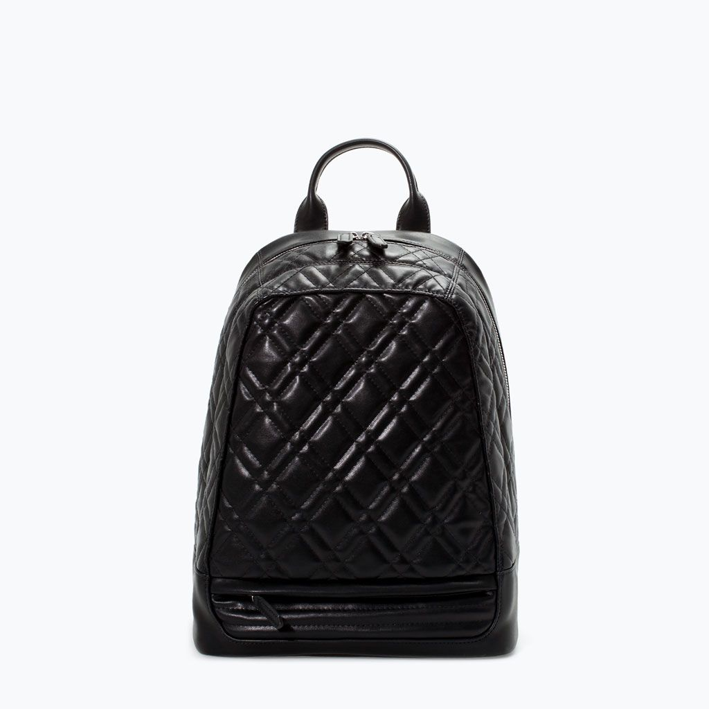 Image 1 of QUILTED RUCKSACK from Zara | clothing | Pinterest ... : quilted rucksack - Adamdwight.com