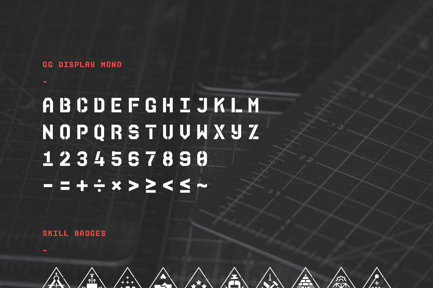Girls Garage type and skill badge illustrations Web