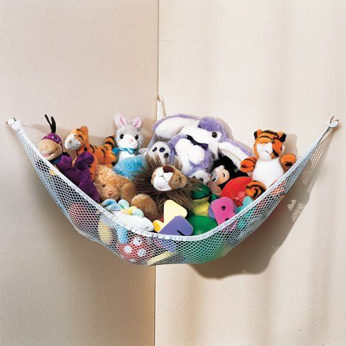 Small Stuffed Animal Hammock, Use These Stuffed Animal Hammocks To Store Your Child S Stuffed Animals And Keep Them Off The Bed And Floor If They Have Mo Kids Storage Kids Room Toy Hammock