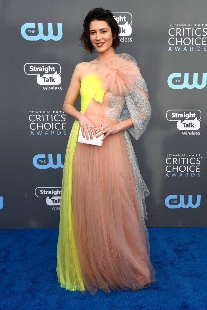Mary Elizabeth Winstead In Delpozo – 2018 Critics  Choice Awards ... 0e63733779