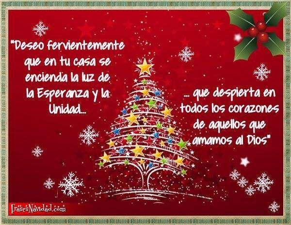 Podemos compartir hermosas frases de navidad y alegrar a - Postales de navidad bonitas ...