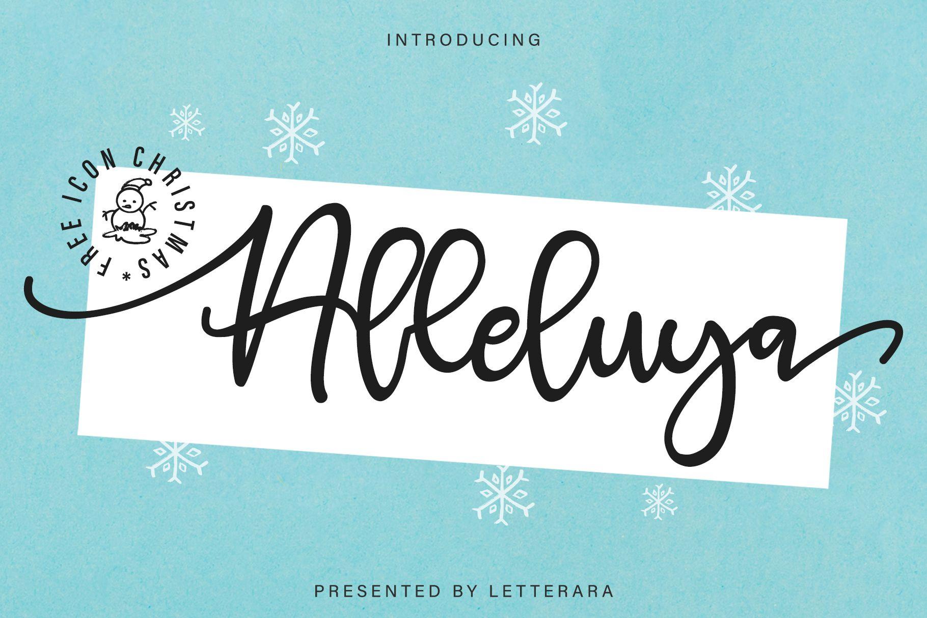 Alleluya Script Font In 2020 Beautiful Fonts Font Bundles Commercial Use Fonts