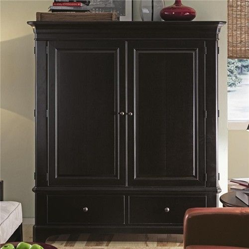 Thomasville Kitchen Cabinets >> Thomasville® Cinnamon Hill Entertainment Center - Baer's Furniture - Armoire Boca Raton, Naples ...