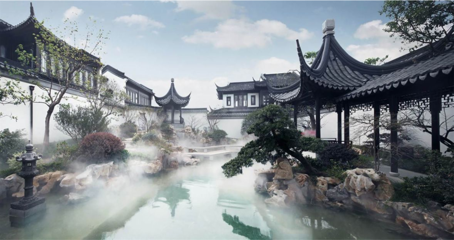 Why China S Super Wealthy Shun Western Looking Homes Expensive Houses Extravagant Homes Luxury Garden
