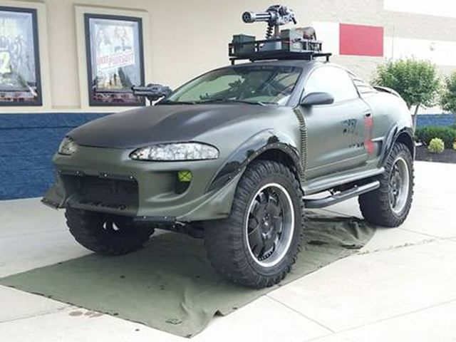 This Vehicle Is Ready For The Zombie Apocalypse Craigslist Has A