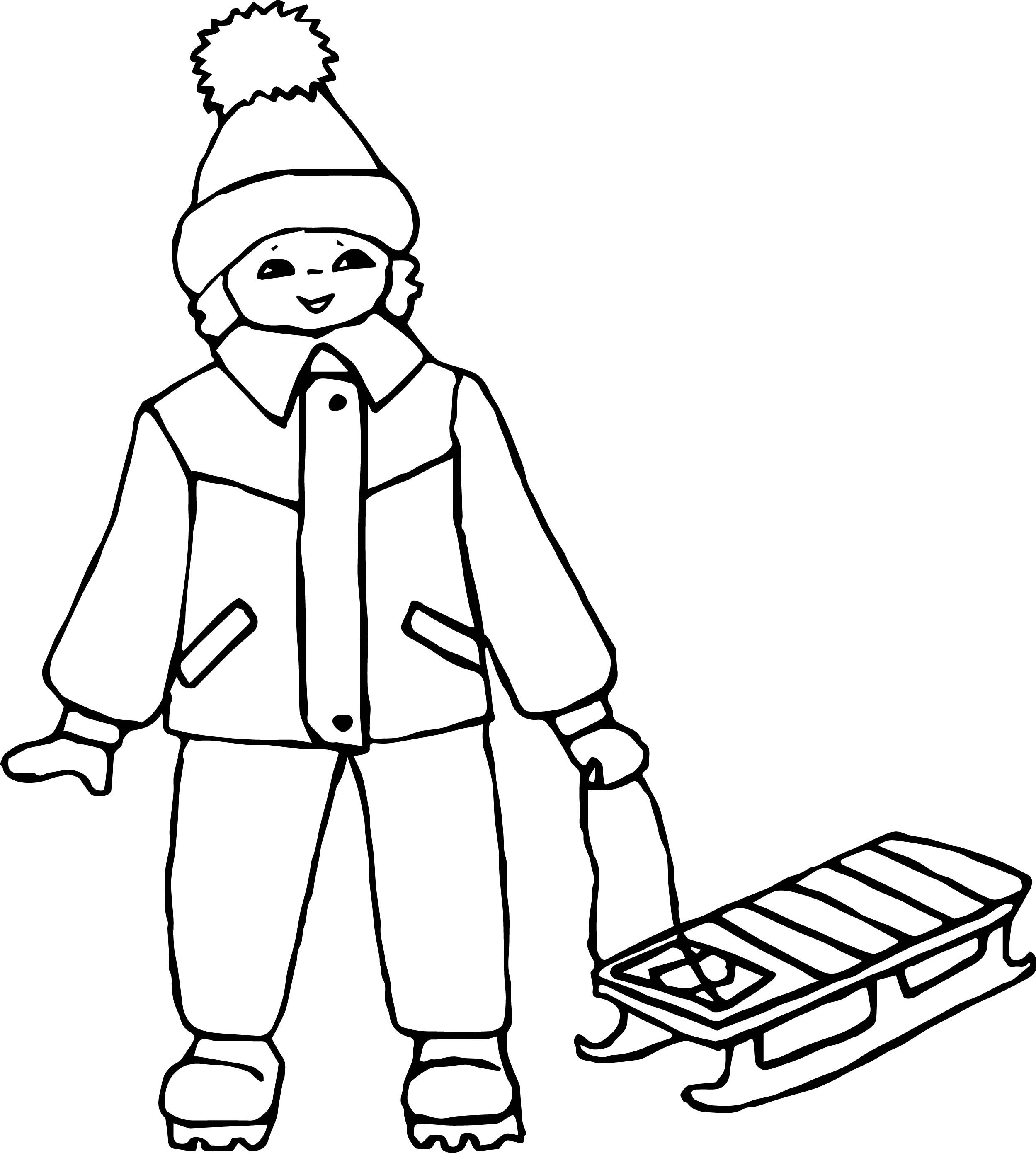 cool Boy Ice Skate Coloring Page   Ice skating, Coloring ...