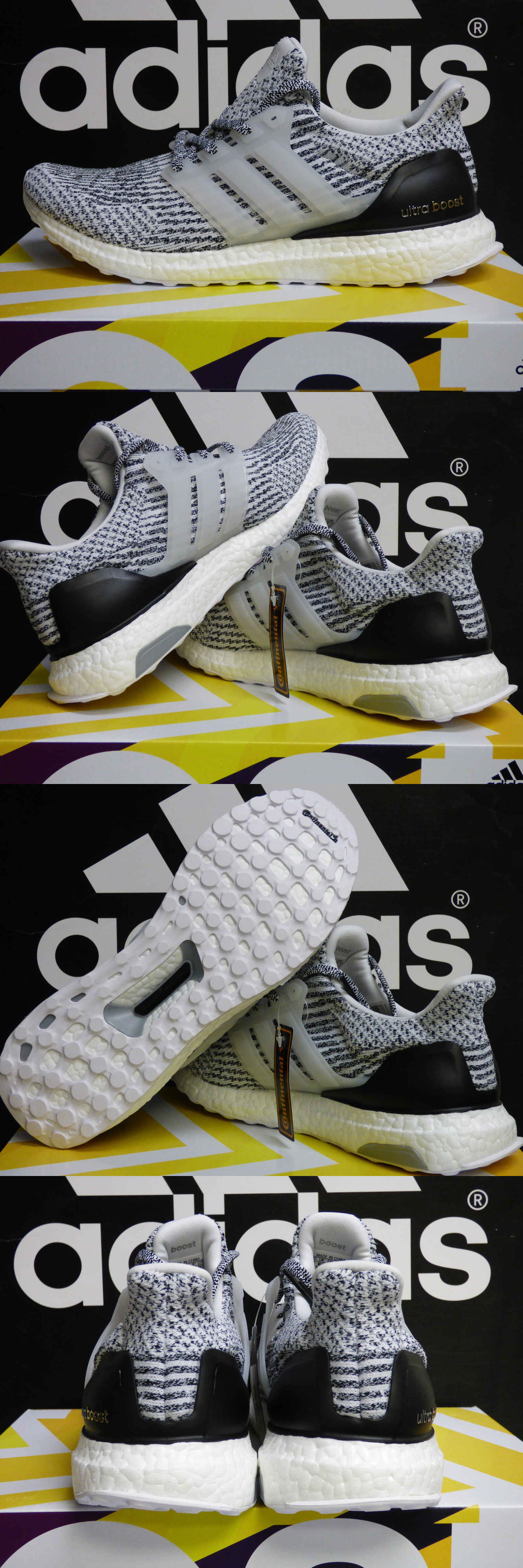 4b89a44c654e4 Men 158952  New Authentic Adidas Ultraboost 3.0 Running Shoes Oreo White  Size 9 Us S80636