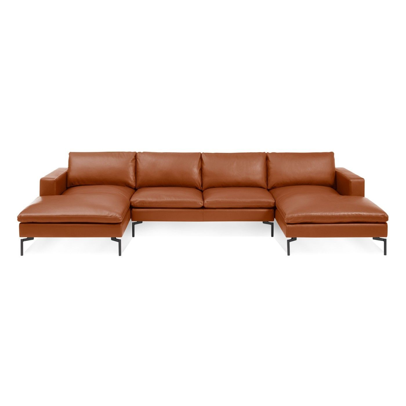 New Standard U Shaped Leather Sectional Sofa Toffee Leather Black Leathersectionalsofas With Images Leather Sectional Sofas Leather Sectional U Shaped Sectional Sofa