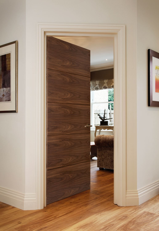 8500 Walnut Fd30 Bespoke Oak Interior Doors Wood Doors Interior Doors Interior