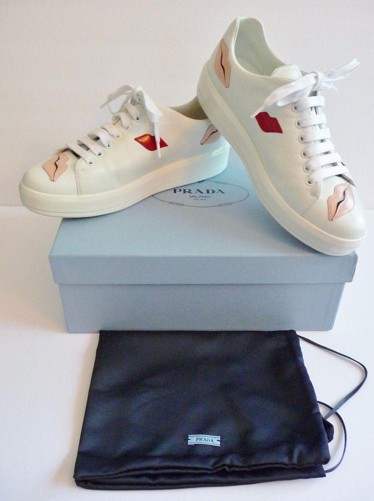 523536f7d57 shopping elton john adidas tracksuit and prada hi top contrast lip sneaker  black men shoes upscalehype 4aad1 25db8; discount prada nib lip applique  lace up ...