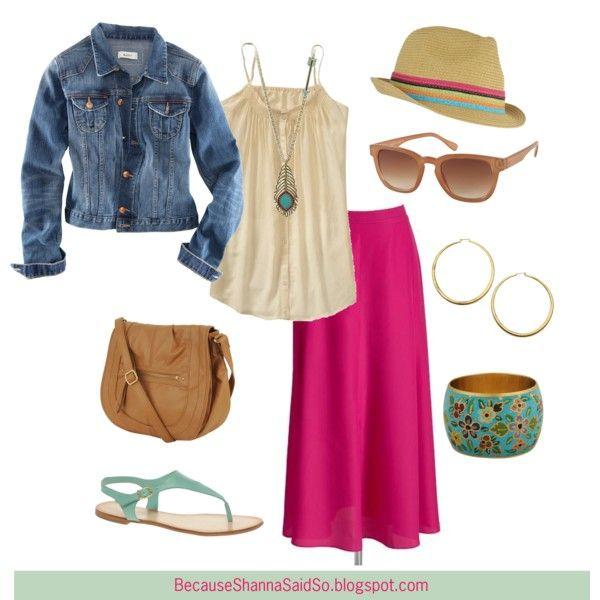 Spring Fever & A Maxi Skirt