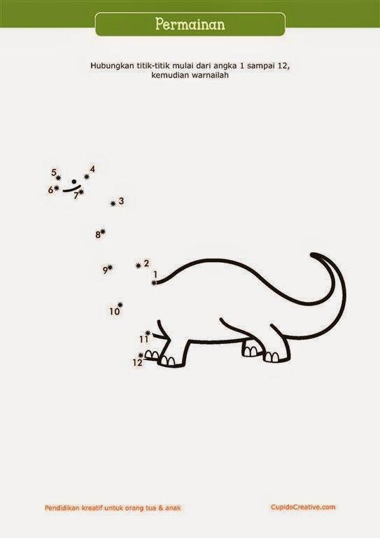 Dinosaur Warna Warni Belajar Menggambar Dan Mewarnai Untuk Anak
