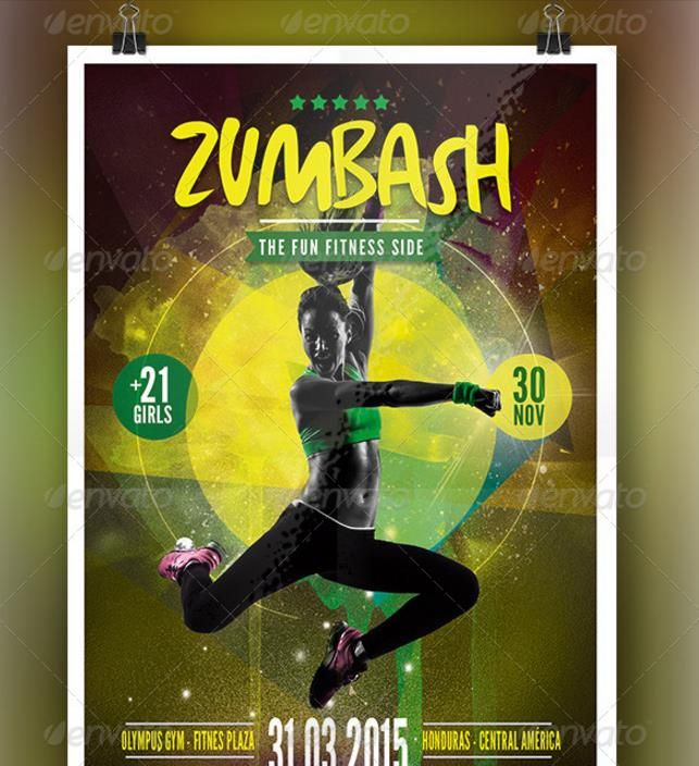 20 Fitness Flyer Template Psd For Fitness Center Gym And Health P