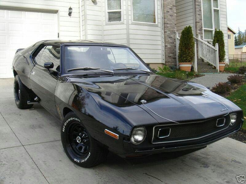 Oh Baby Blacked Out Amc Javelin It Doesn T Get Much Sexier Than