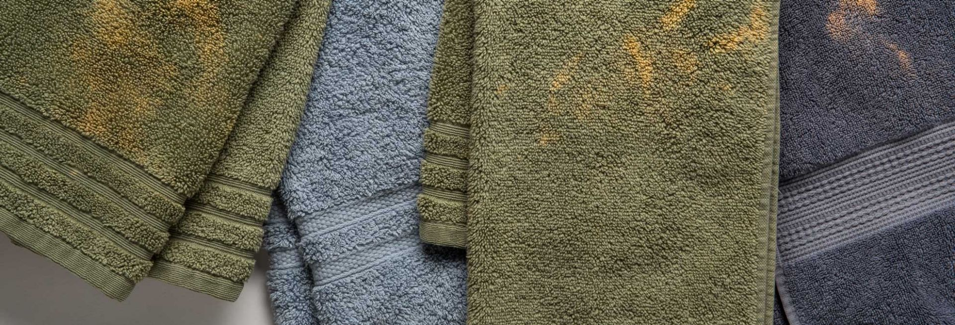 Towels That Resist Bleaching From Benzoyl Peroxide Benzoyl